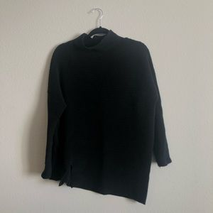 French Connection Mozart mock neck sweater black